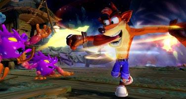 Remaster de Crash Bandicoot