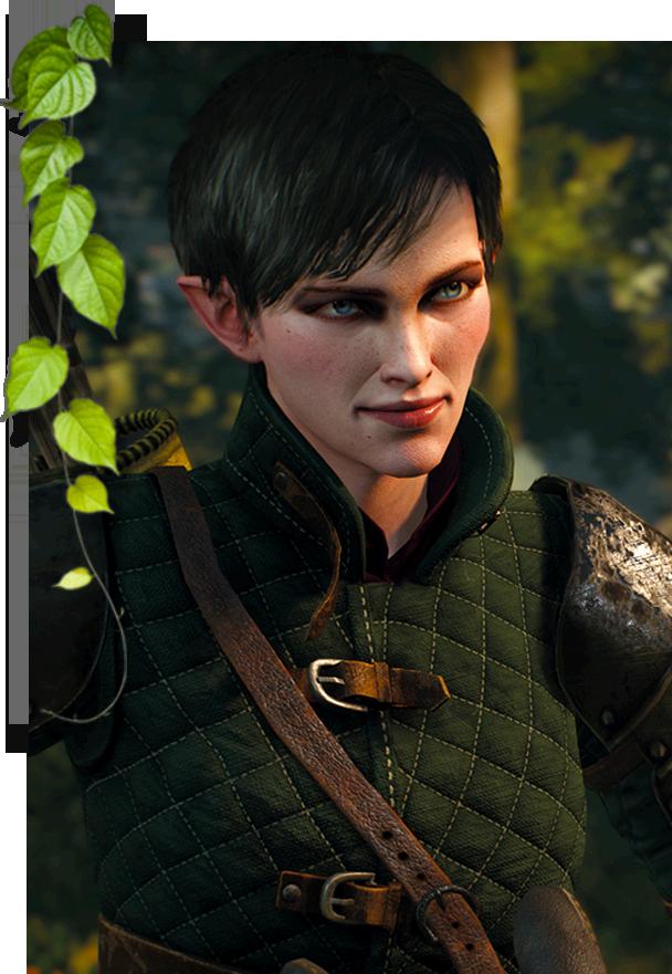 Portrait de um elfo