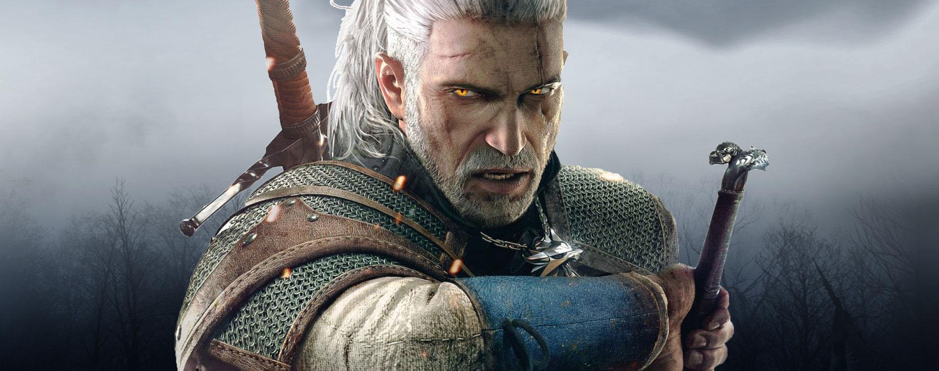 Geralt, o protagonista do universo de Witcher
