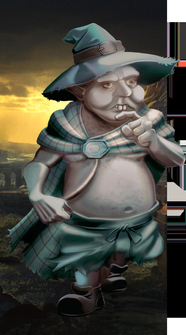 Portrait de um Gnomo