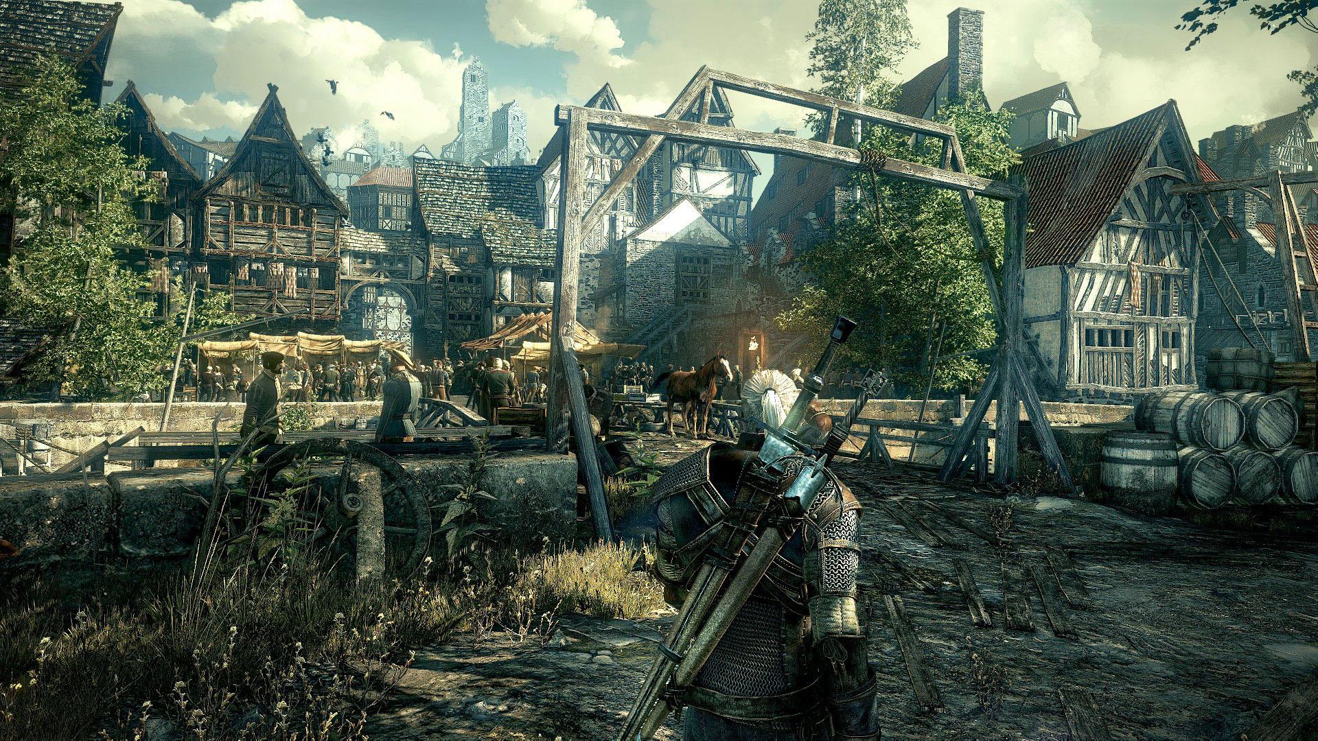 Witcher 3 Gameplay Screenshot