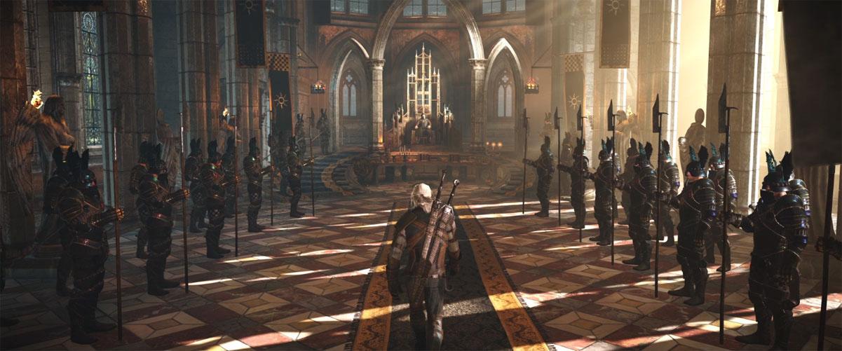 Cena do Gameplay de The Witcher 3