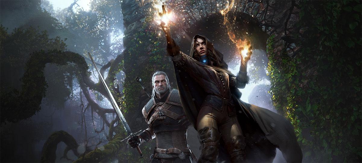 Witcher e Feiticeira
