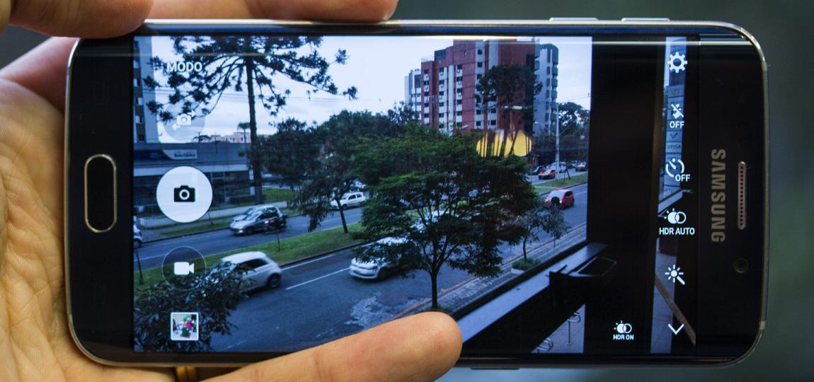 Câmera Galaxy S6 EDGE