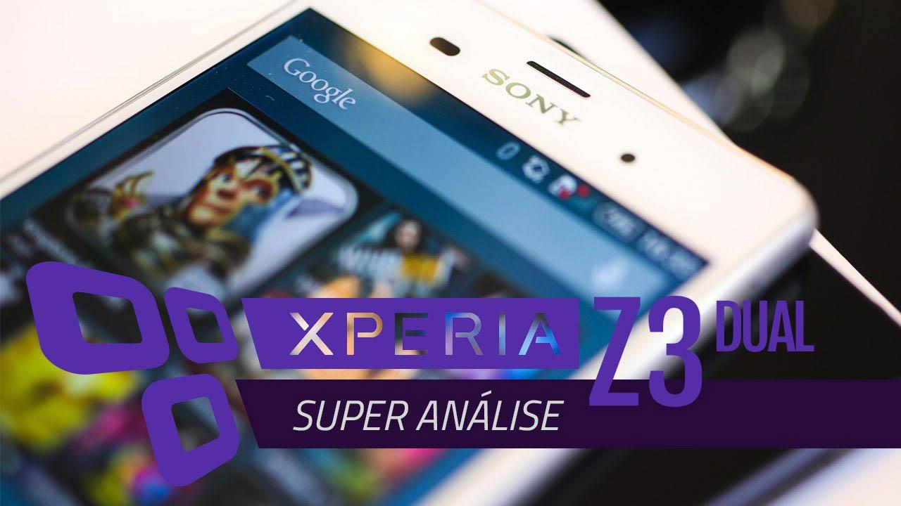 Super análise Sony Xperia Z3