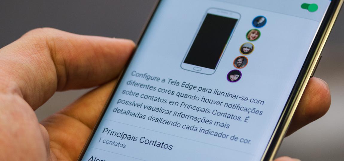 Tela Galaxy S6 EDGE