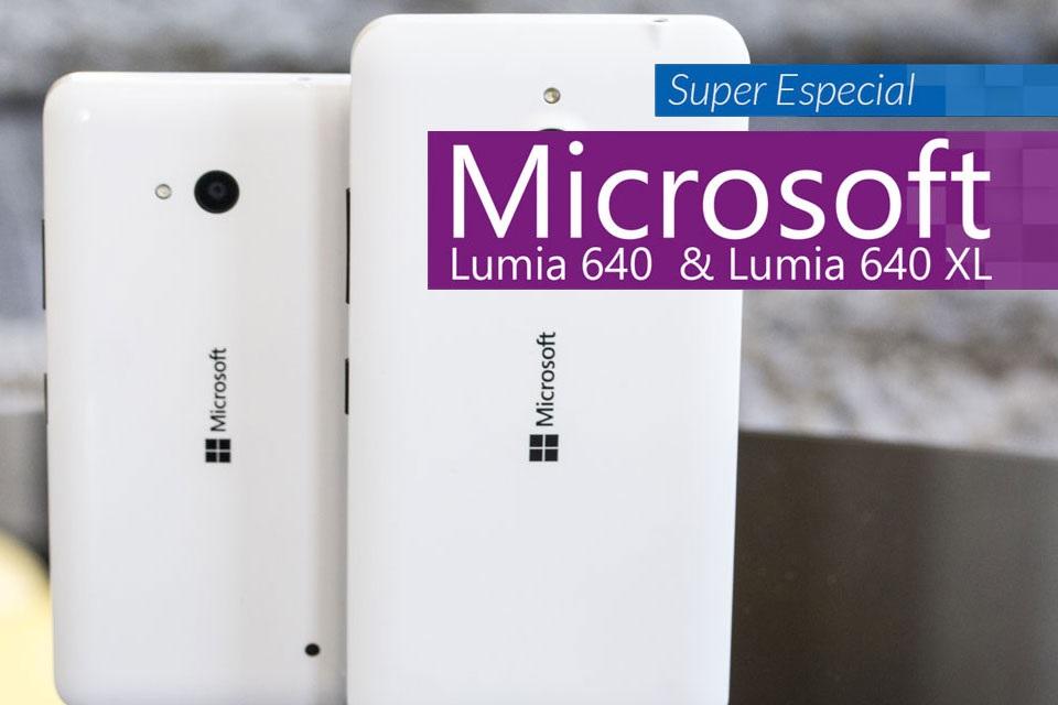 Super análise Lumia 640 e 640 XL