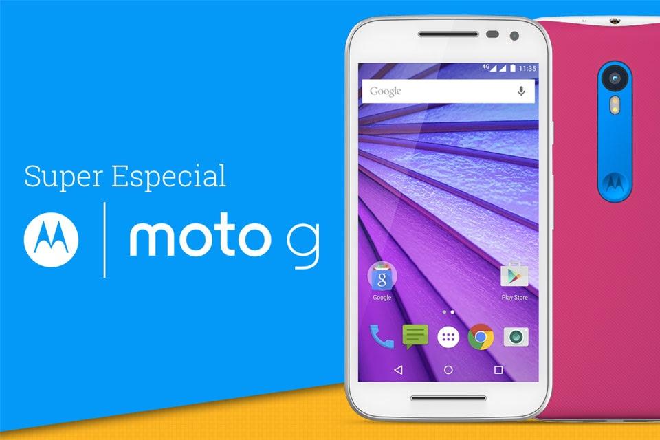 Super análise Moto G (2015)