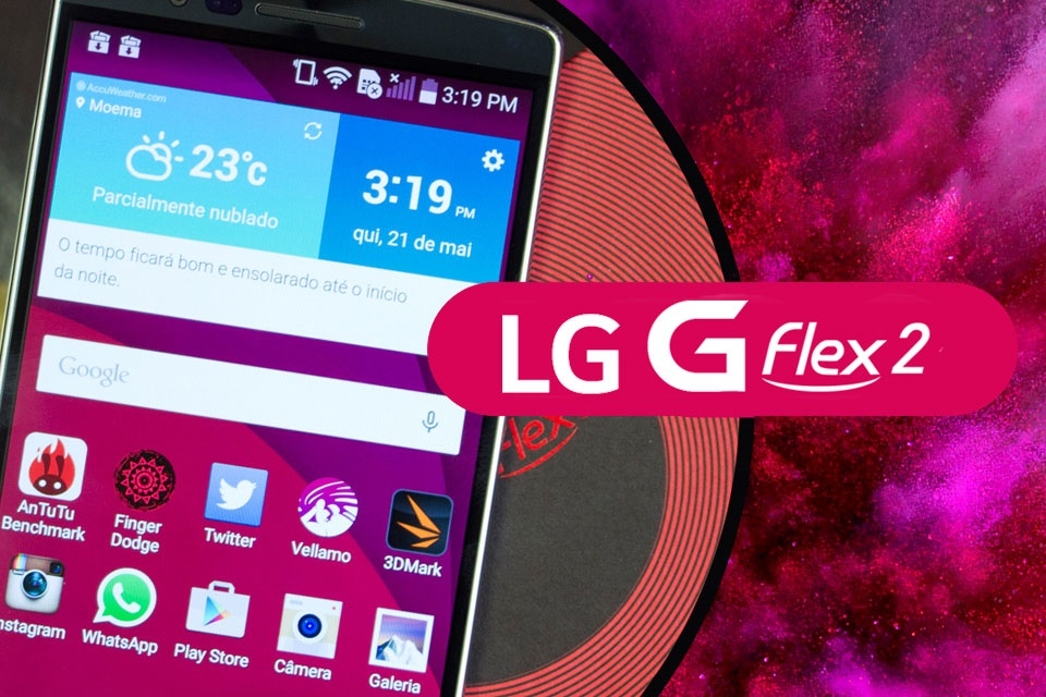 Super análise LG G Flex 2
